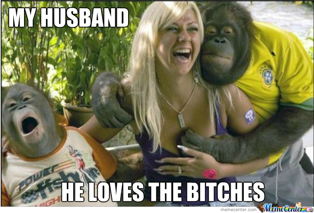 Apes Love B*tches