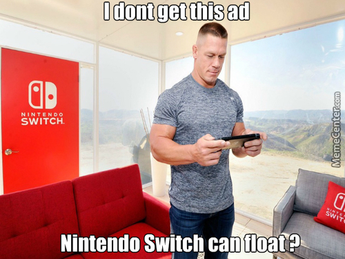 Apparently The Nintendo Switch Can Float
