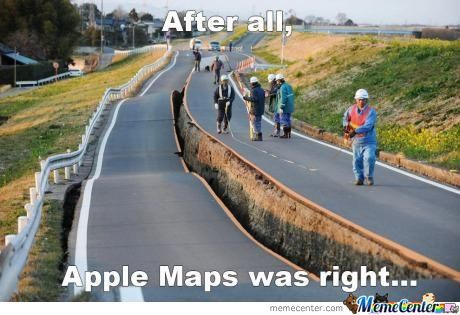 Apple Maps Was Right