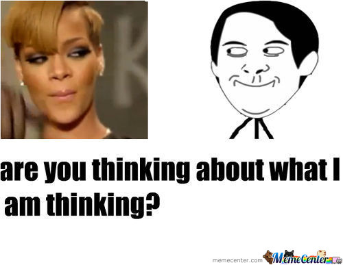 Are We Thinking Te Same?