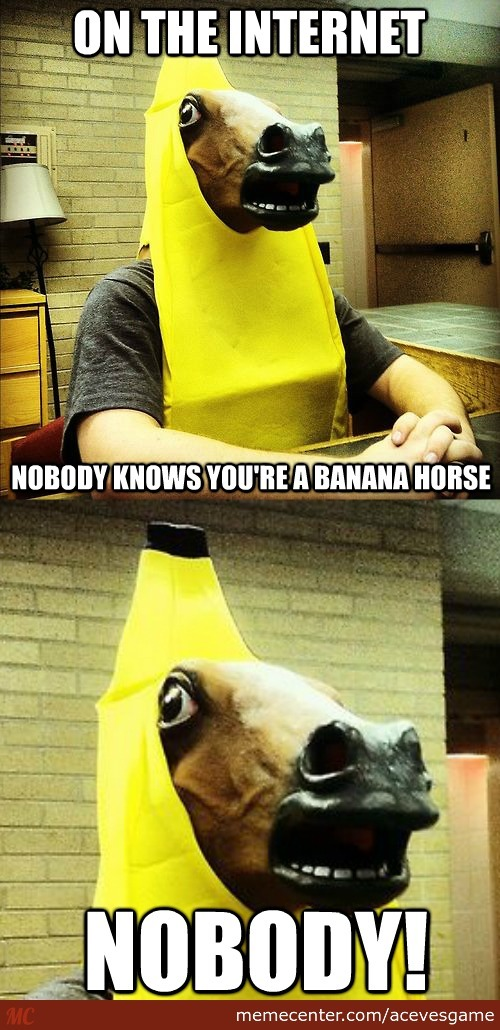 Are You A Banana Horse?