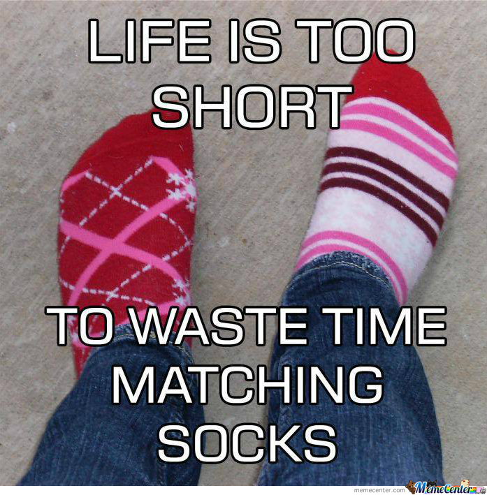 Are You A Sock Matcher