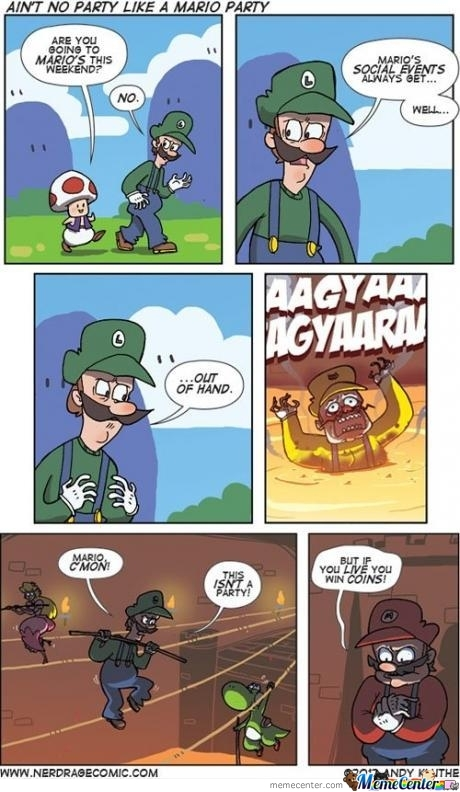 Are You Going To Mario's Party ?