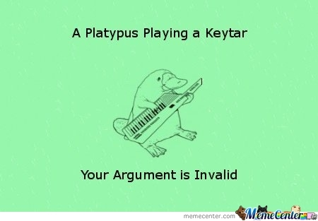 Argument Invalid