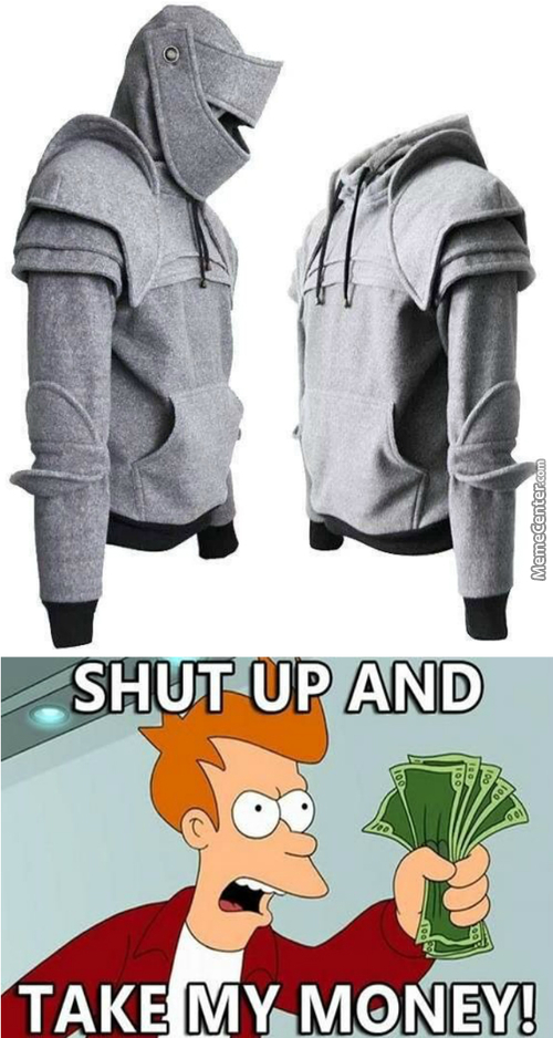 *---* Armored Knight Hoodie