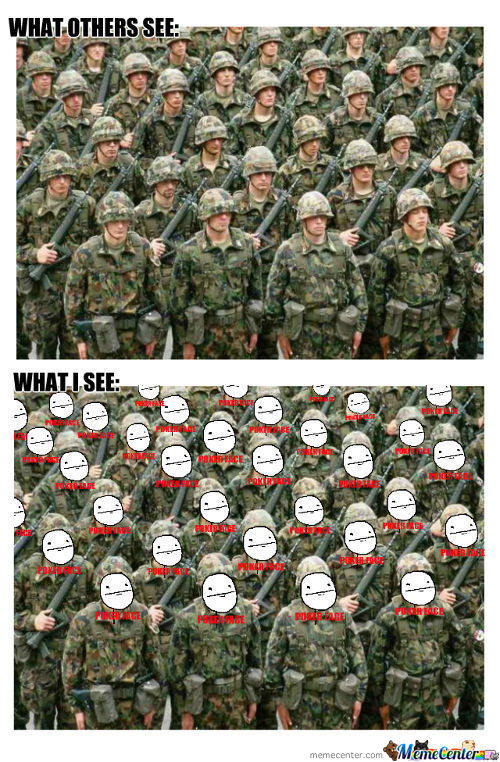 Army Of Poker Face