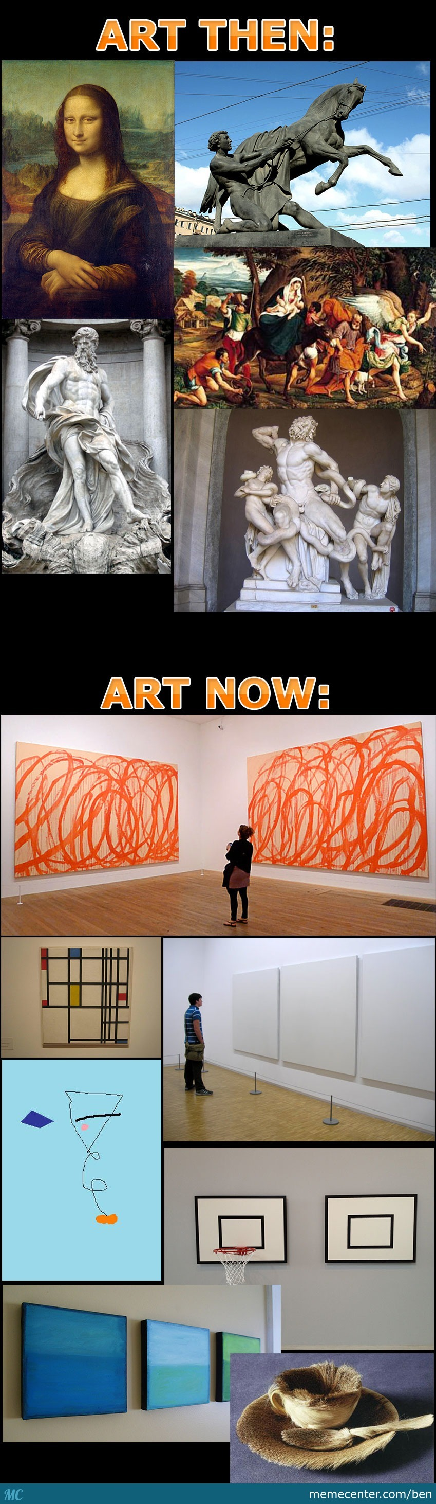 Art Then - Art Now