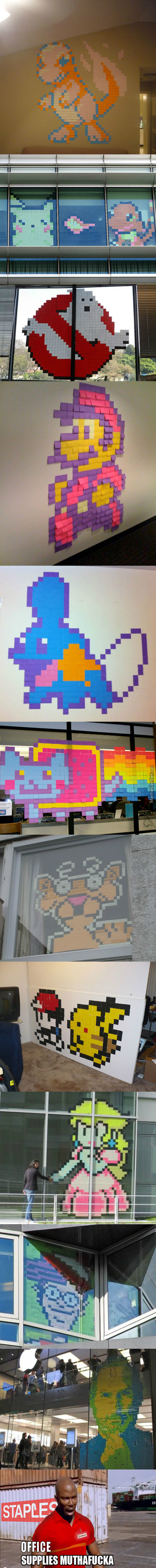Art With Post-It