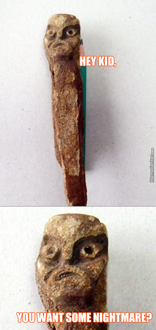 Artifact Found In Serbia. It's Probably Cursed