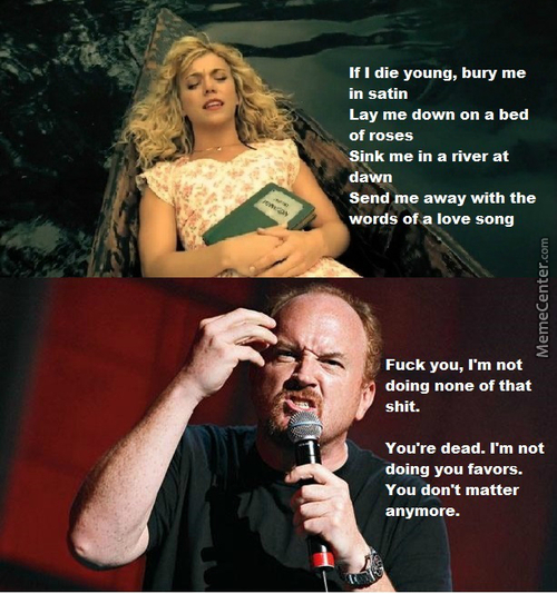 As A Fan Of Louis Ck, This Is All I Can Think About When I Hear This Song On The Radio.