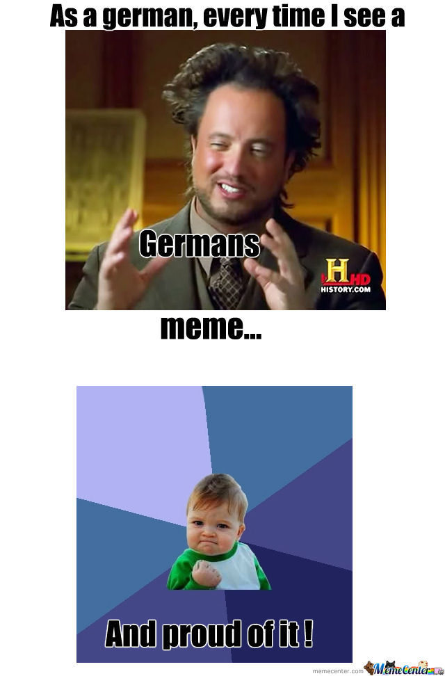 As A German...