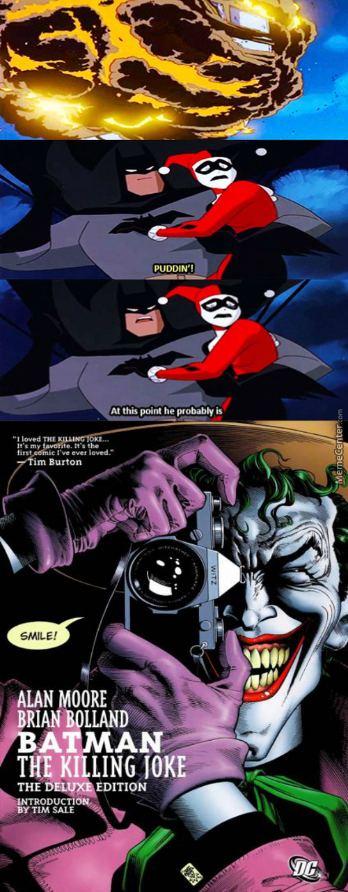 As Bruce's Parents Died So Did His Chill