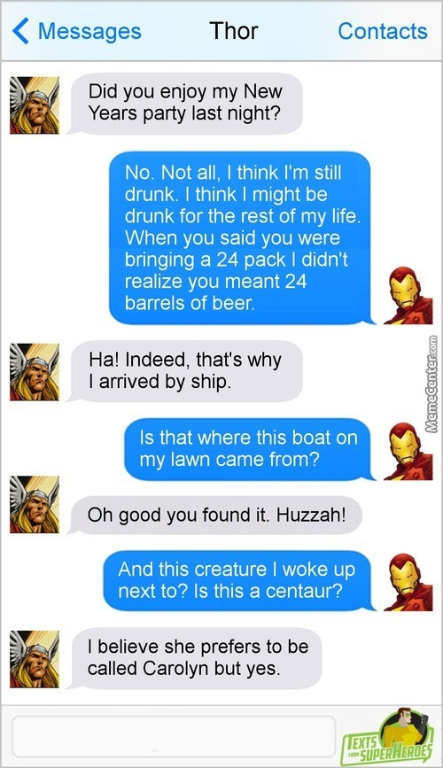 Asgardians Take Parties Seriously. What, You've Never Heard Of Valhalla?