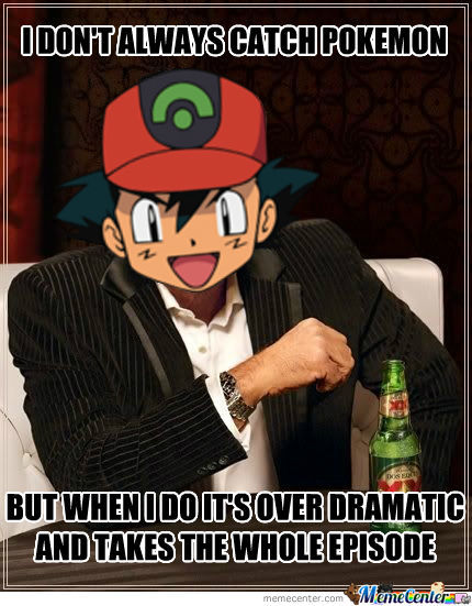Funny pokemon memes ash really. was