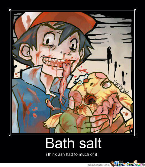 Ash On Bath Salt