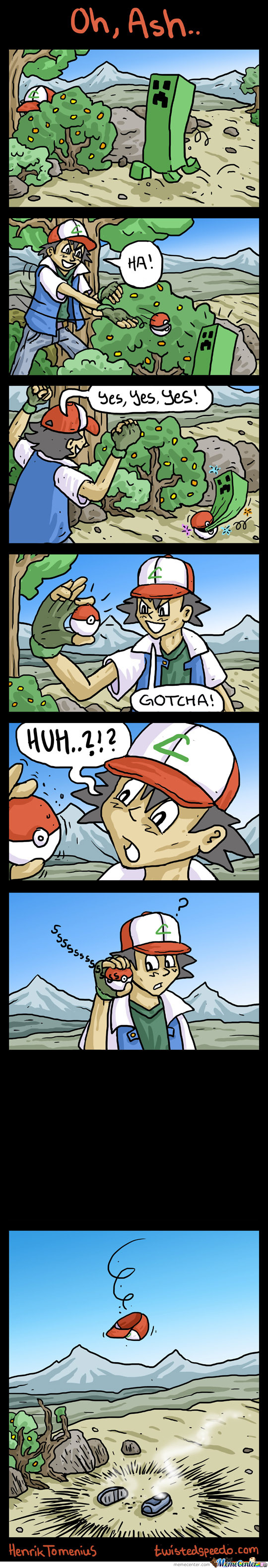 Ash Vs Creeper
