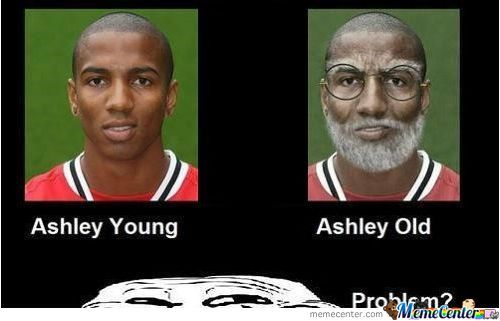 Ashley Young / Ashley Old