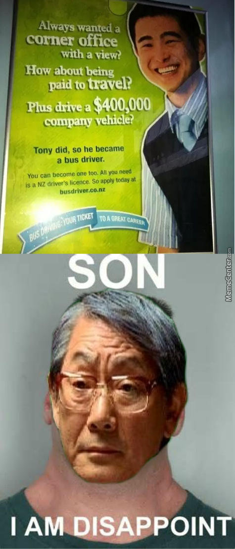 Asian Dad Is So Disappoint
