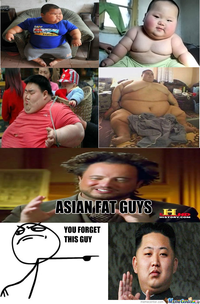 Asian Fat Guys...