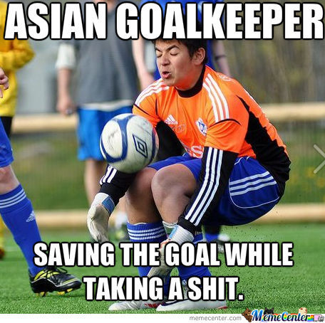 Asian Goalkeeper