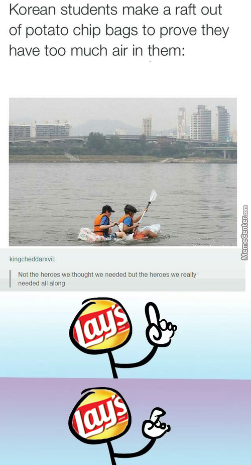Asians Busting Potato Chip Manufacturers This Time, For The Sake Of Science