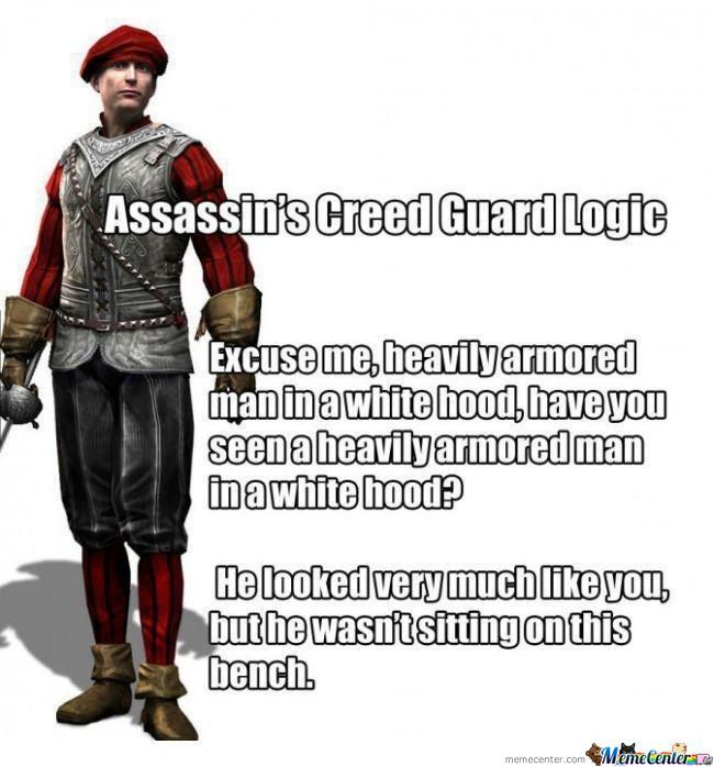 Assassin's Creed Guard Logic