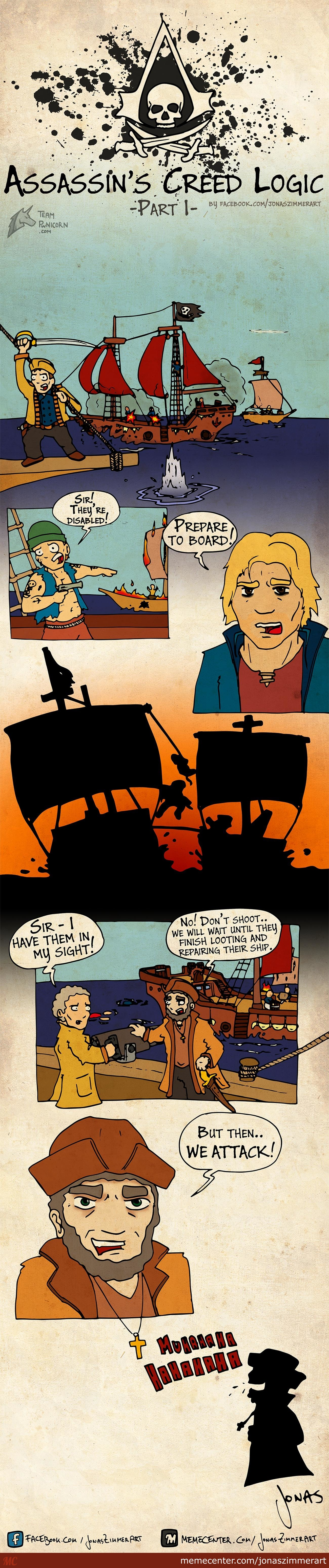Assassin's Creed Iv Logic Part 1: Boarding