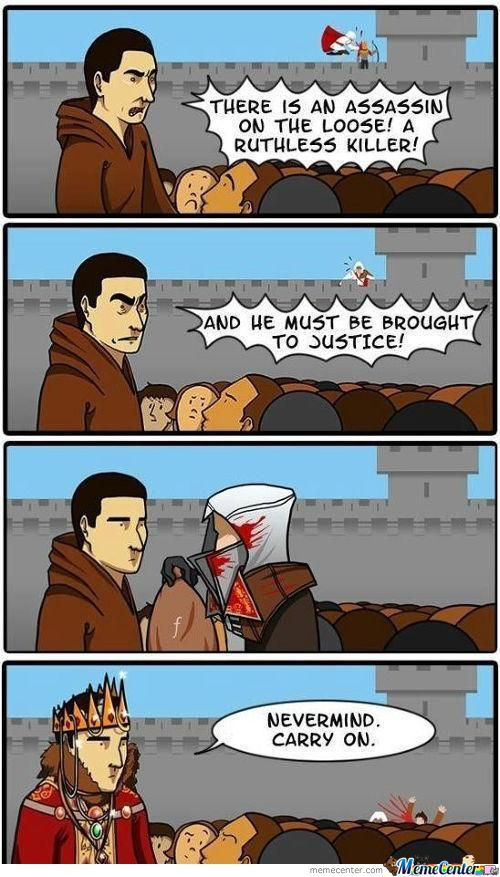 Assassin's Creed Brotherhood Logic