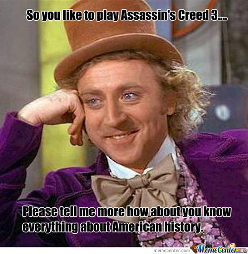 Assassin's Creed =/= History