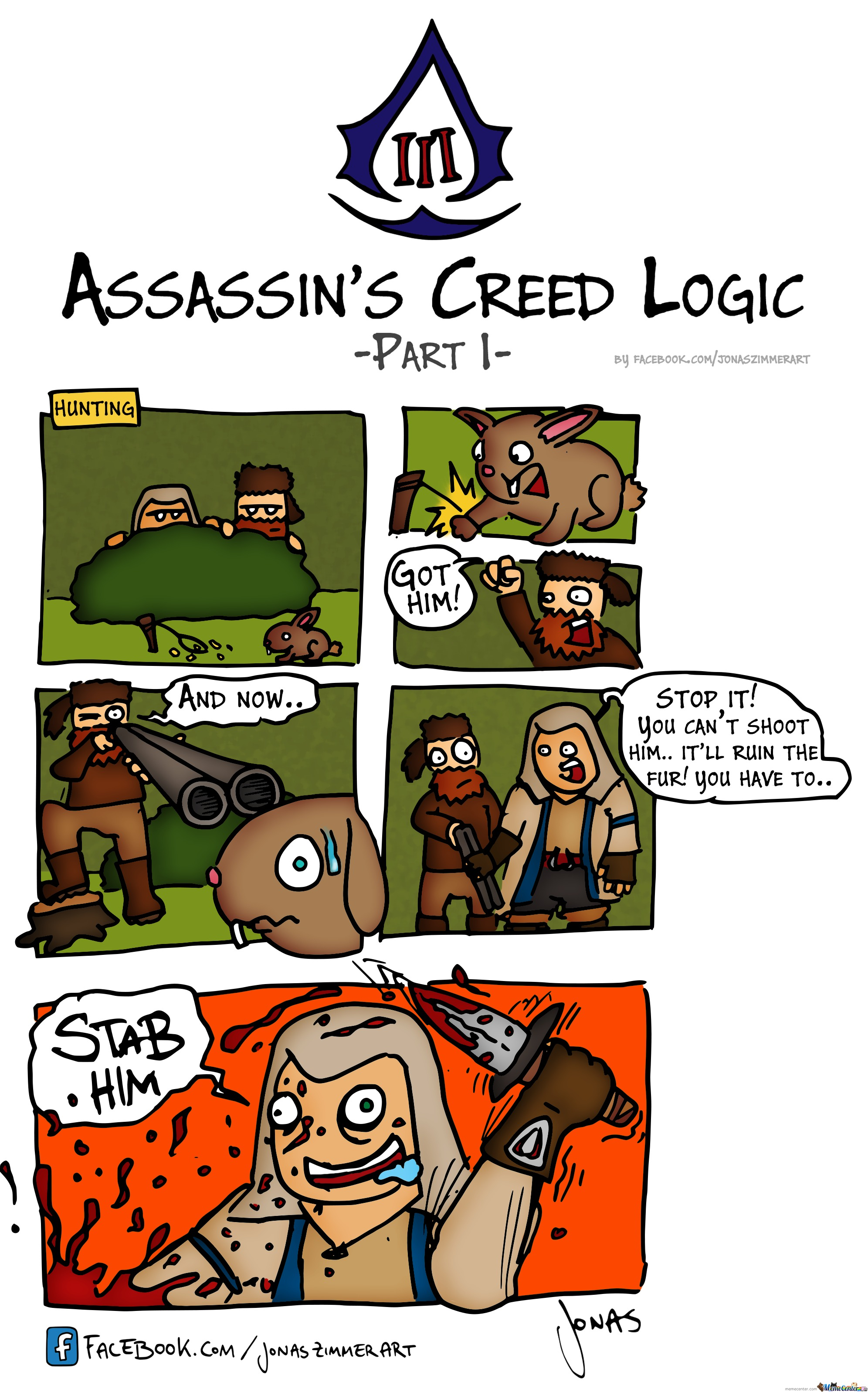 Assassins Creed Iii Logic - Part 1: Hunting