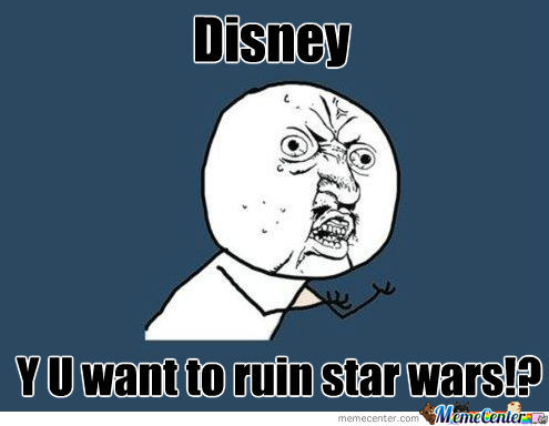 At Disney's Announcement Today...