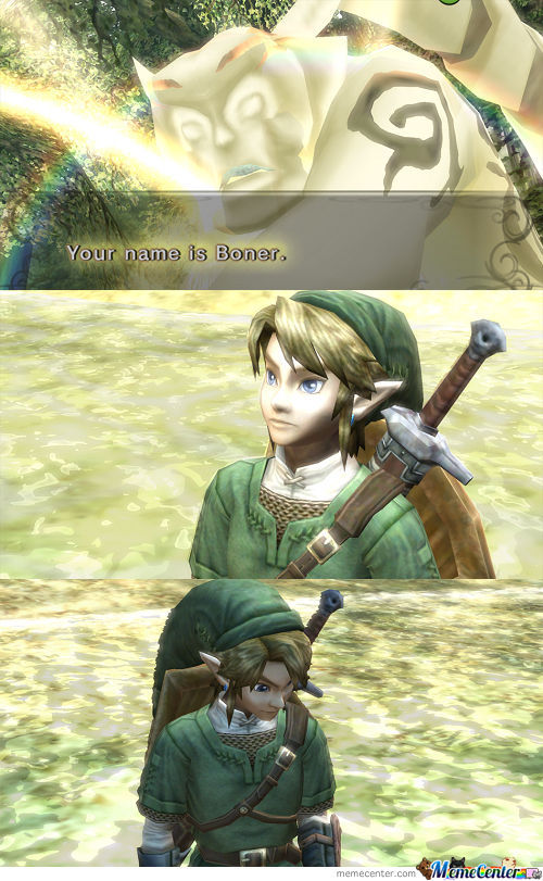 At Least He Didn't Call Him Zelda.