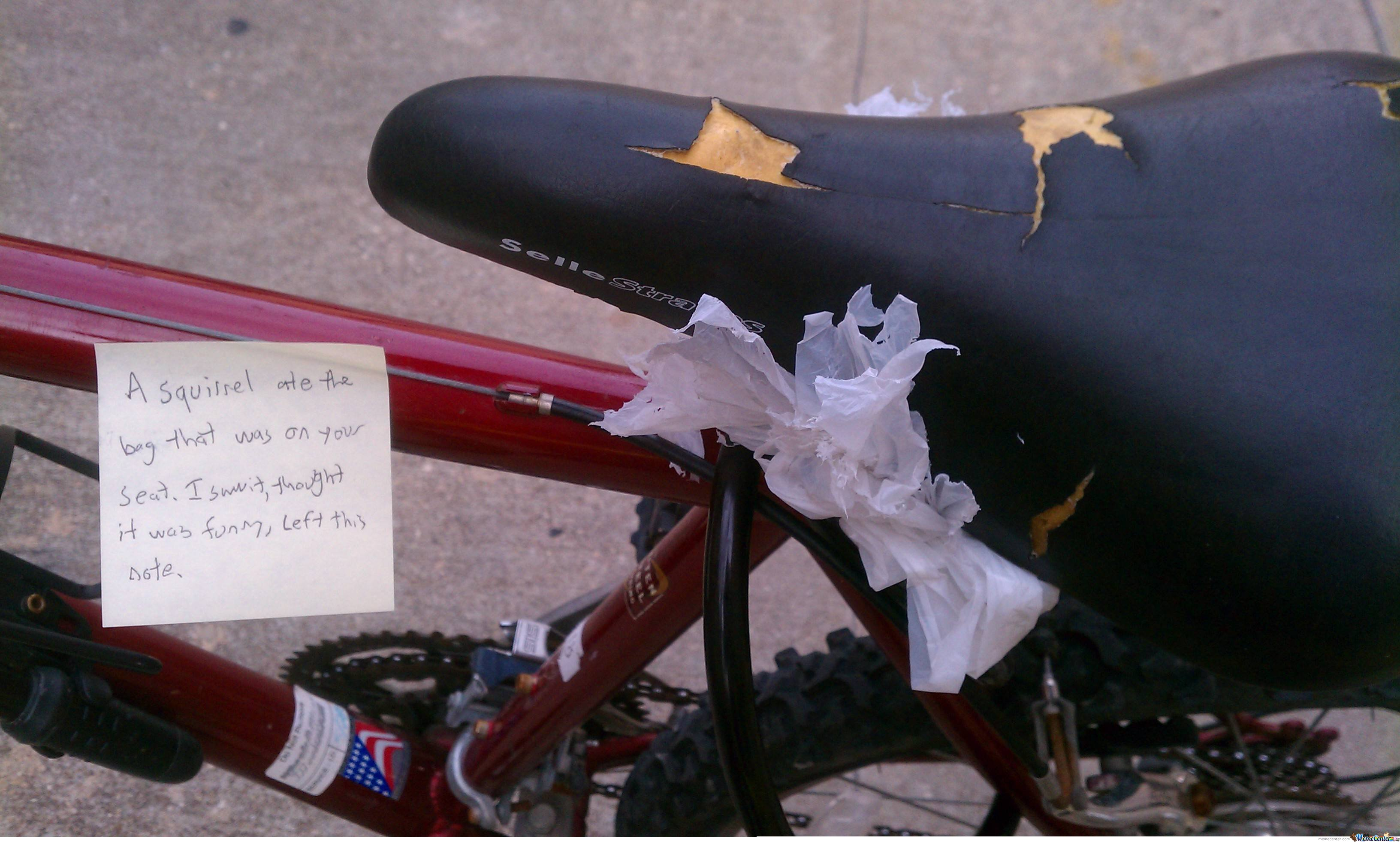 At Least He Left A Note