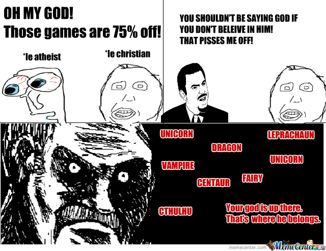 Atheism For The Win