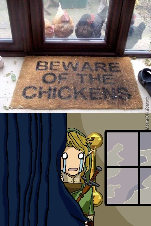 Attack A Cucco, They Said...