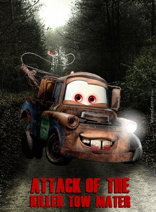 Attack Of The Killer Tow Mater