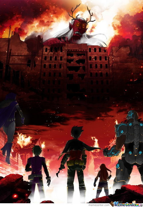 Attack On Teen Titans