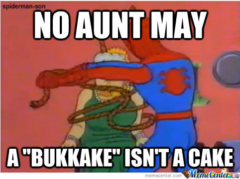 Aunt May And Her Brilliant Idea...