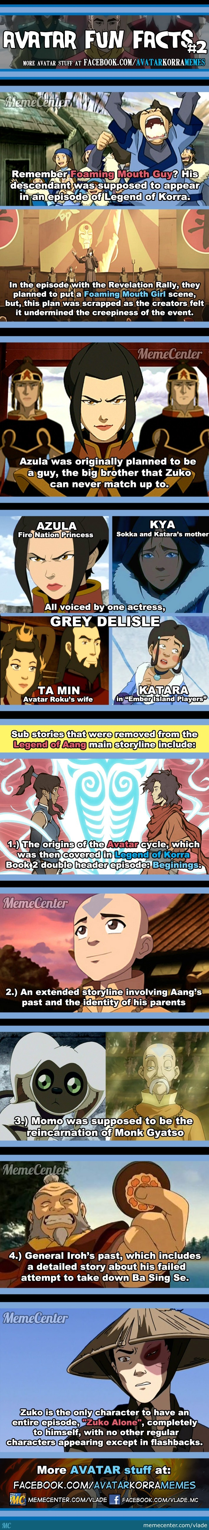 Avatar Fun Facts #2
