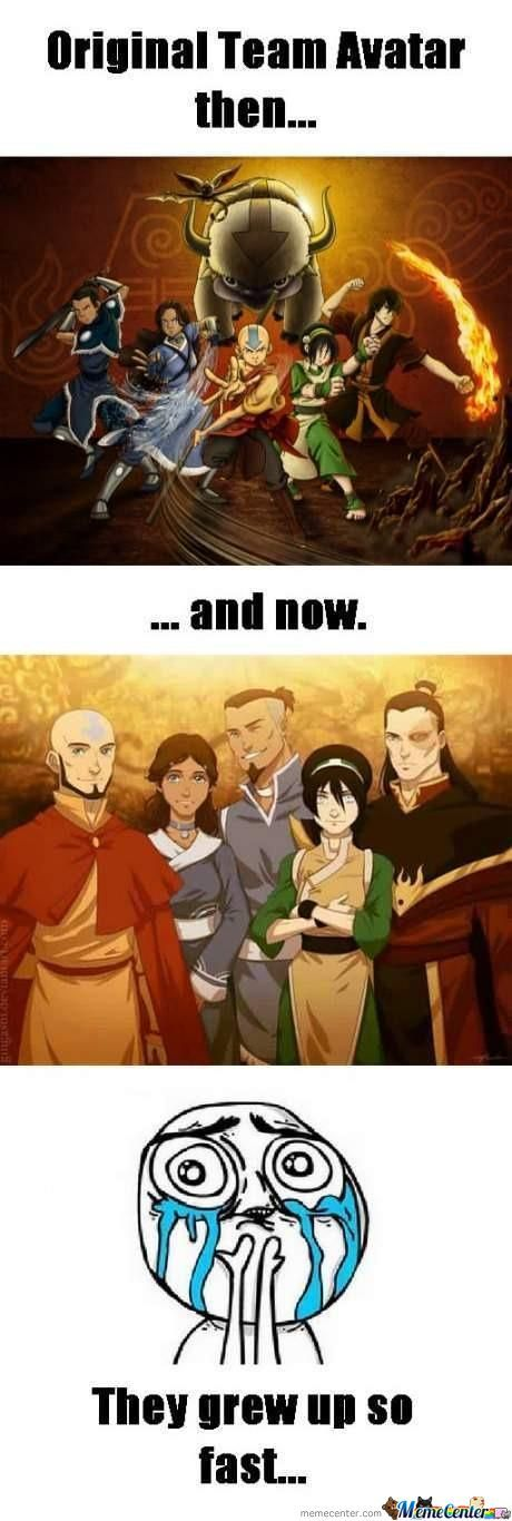 Avatar Then And Now