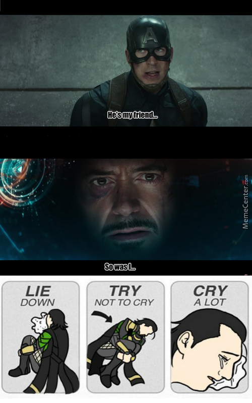 Avengers: Civil Feels (Seriously You Can See His Heart Breaking)