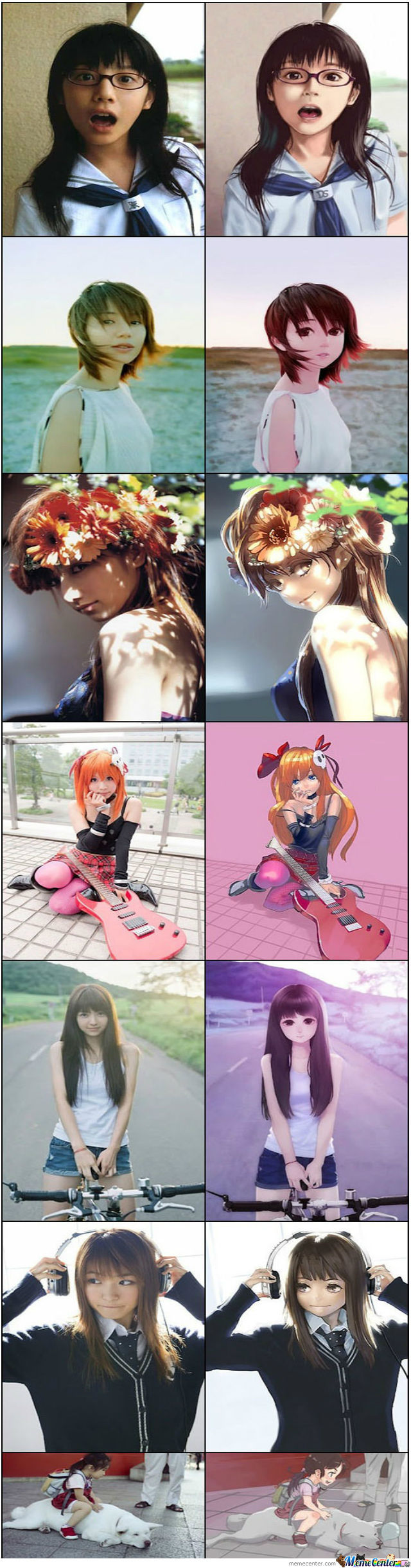 Awesome Anime Cosplay Art
