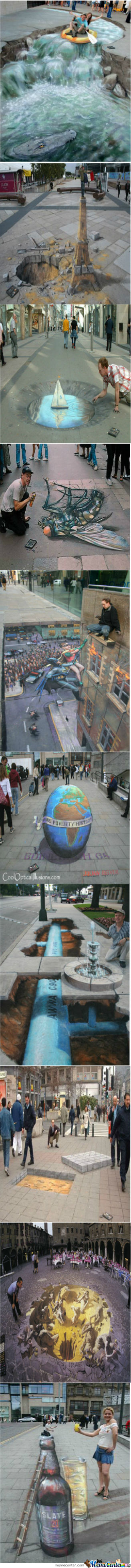 Awesome Art By Julian Beever