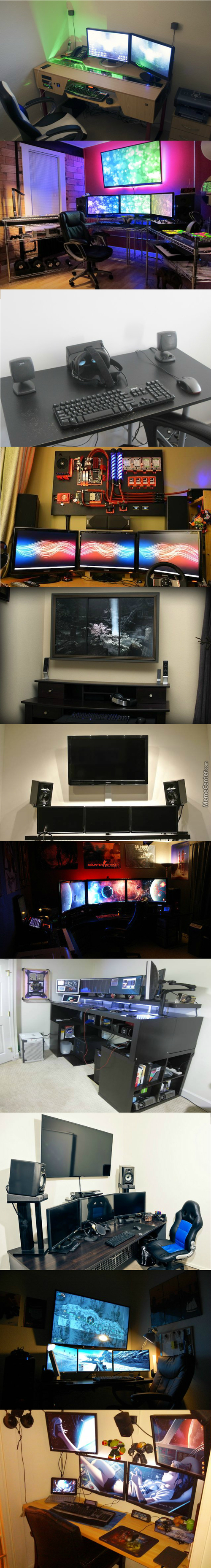 Awesome Battlestations That'll Blow Your Mind (Warning Long Post)
