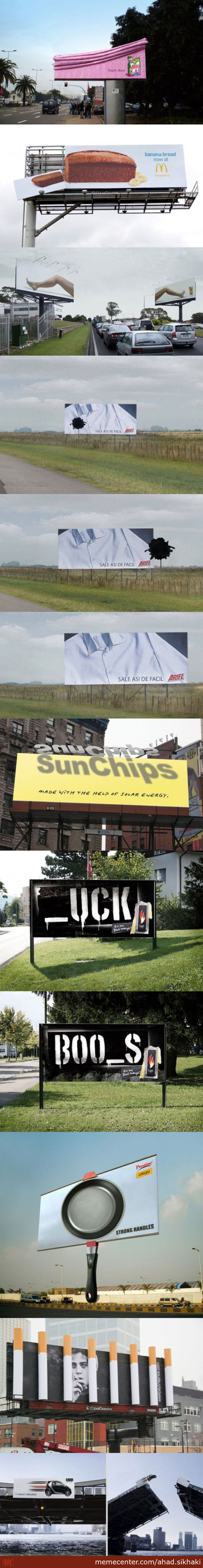 Awesome Billboards Advertising #1