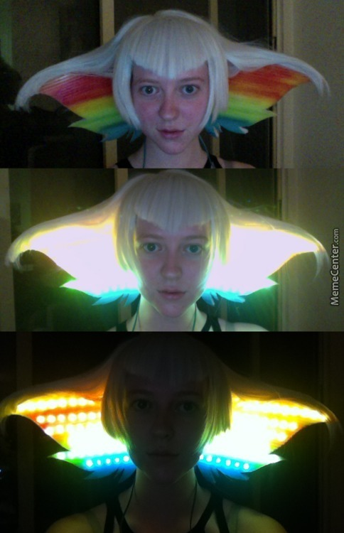Awesome Cosplay Gimmick