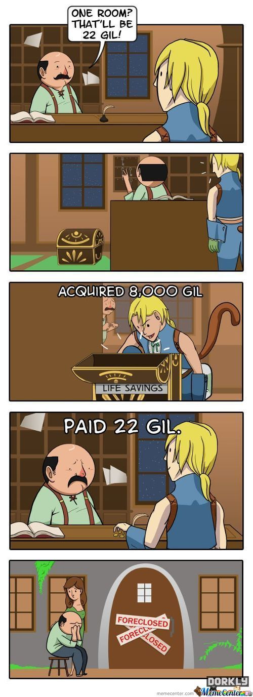 Awesome Final Fantasy Comic By Dorkly