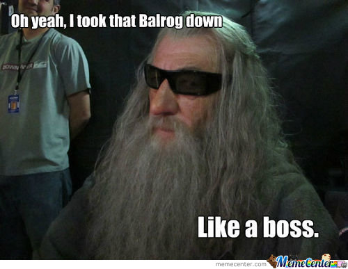 Awesome Gandalf
