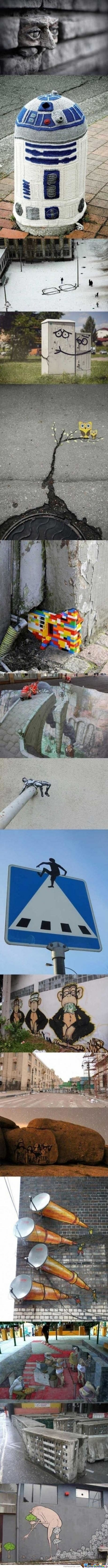 Awesome Graffiti Around The World