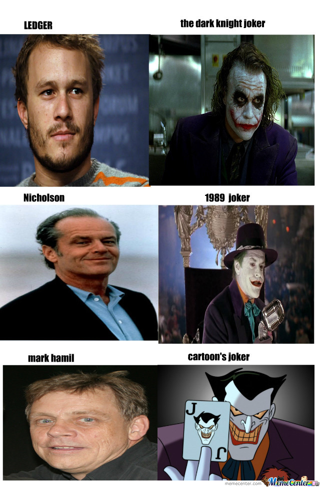 Awesome Joker Transformations